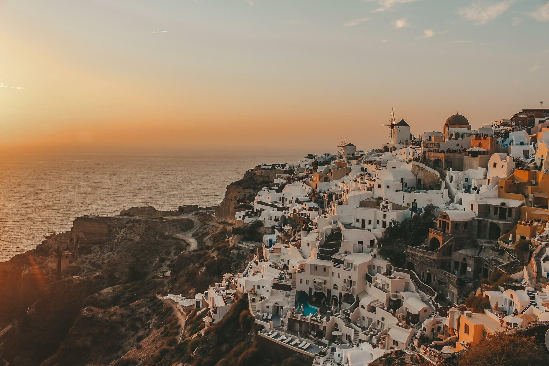 I migliori tramonti di Santorini | Viaggi on the road