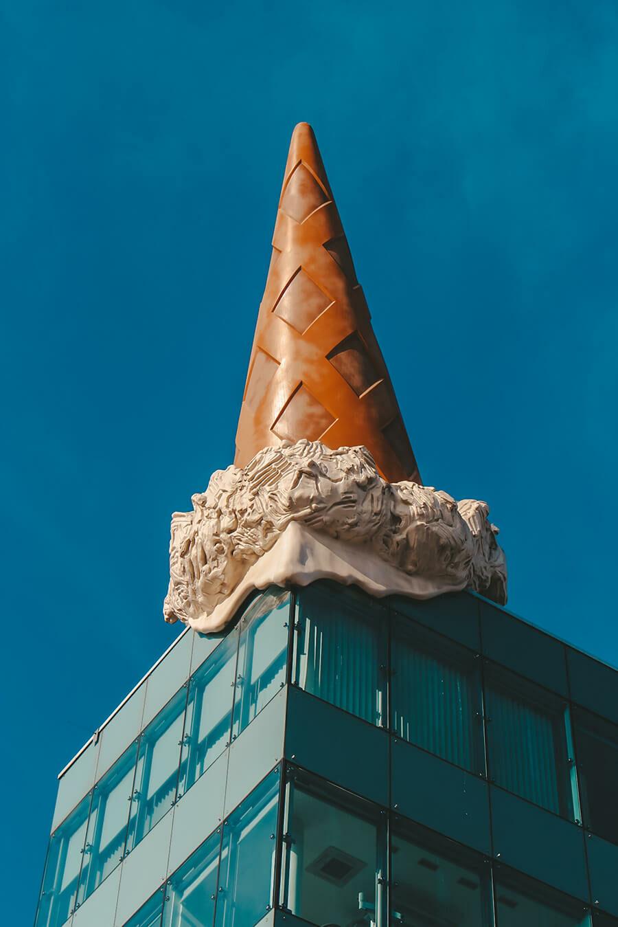 Cono gelato a Colonia