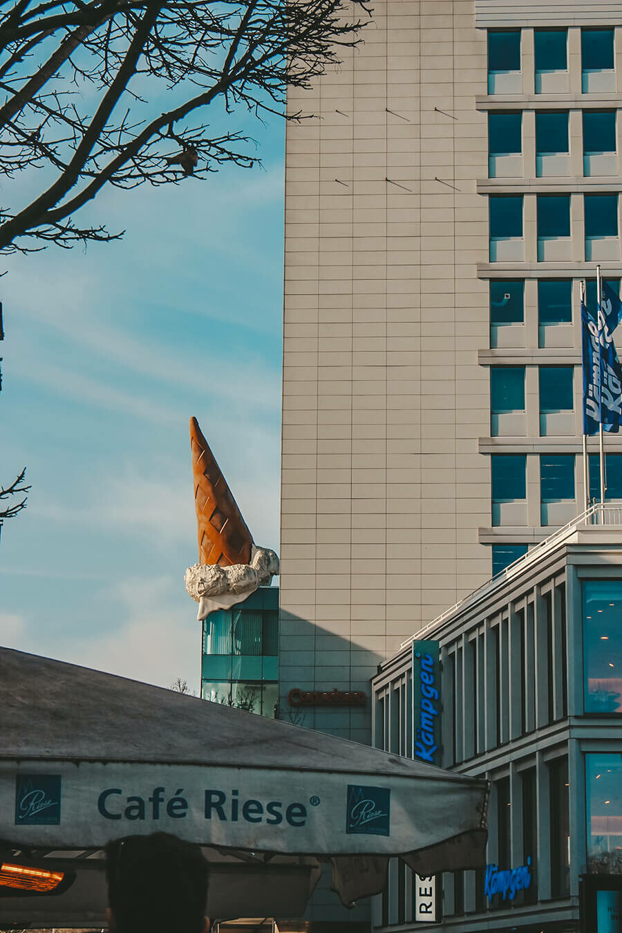 Dropped cone a Colonia