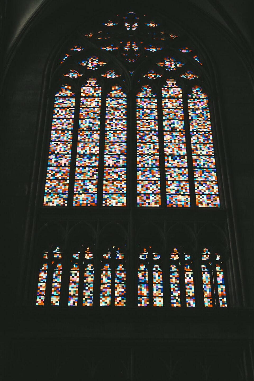 Vetrata moderna Duomo di Colonia
