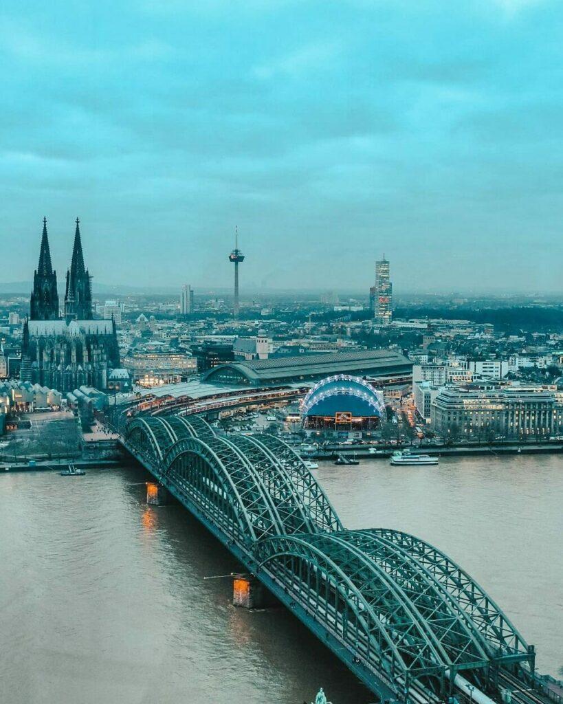 Cosa vedere in due giorni a Colonia - Vista dall'alto Colonia
