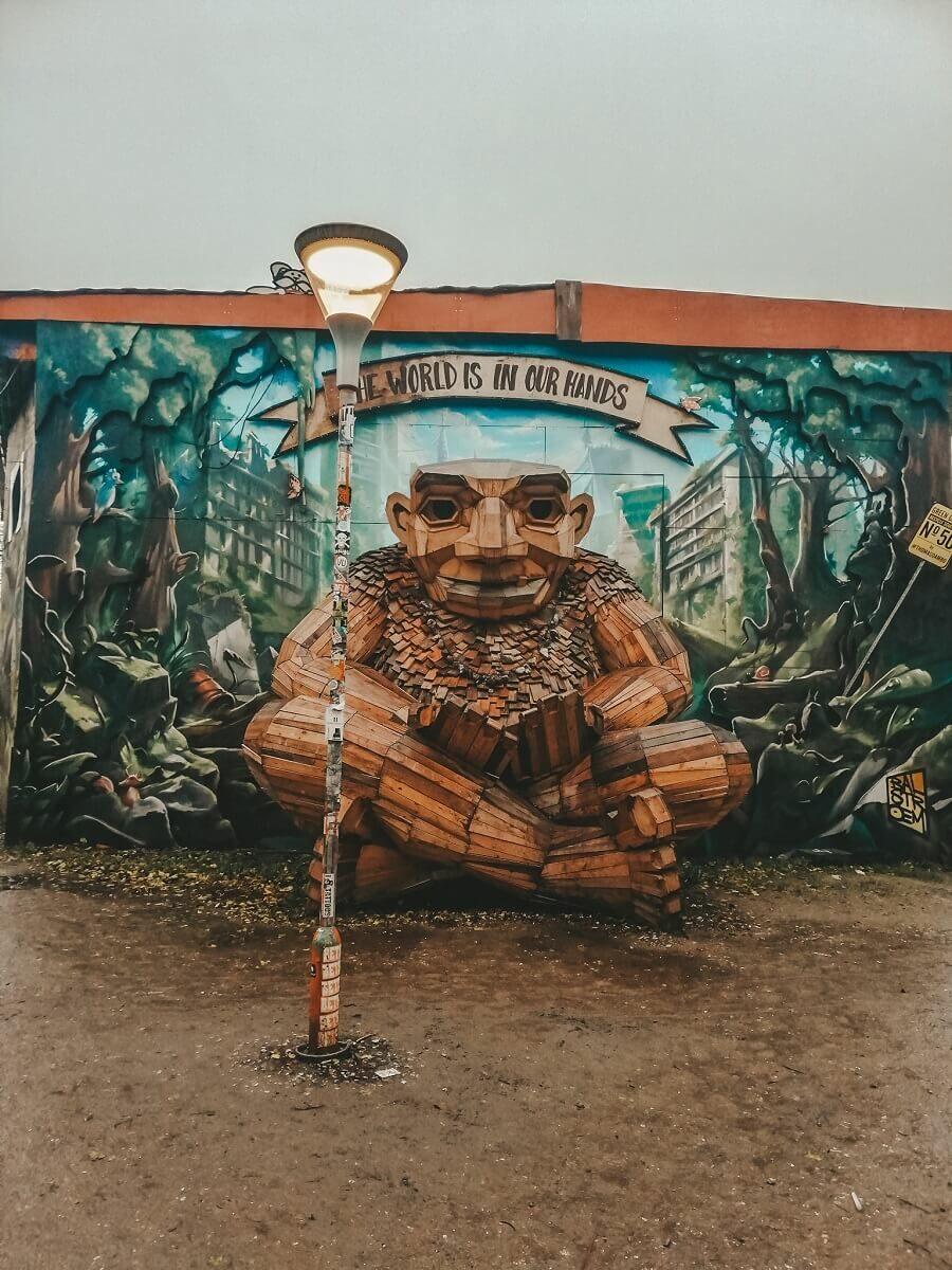 Christiania murales