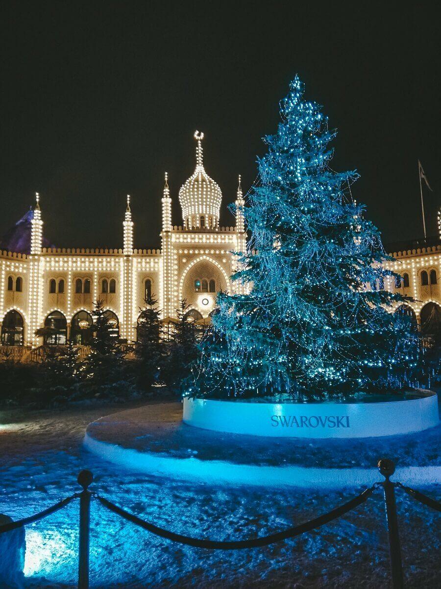 Natale ai Giardini di Tivoli Copenhagen