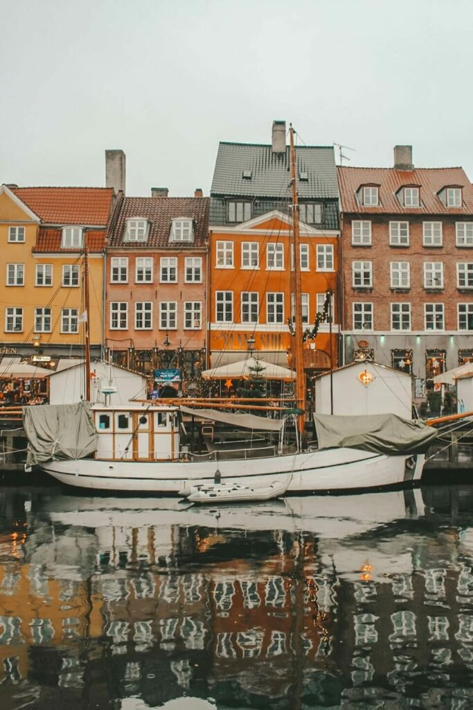Nyhavn case colorate Copenhagen