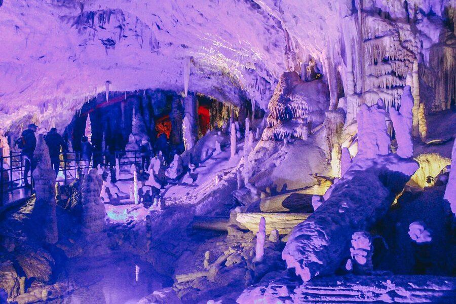 stalattiti grotte di postumia
