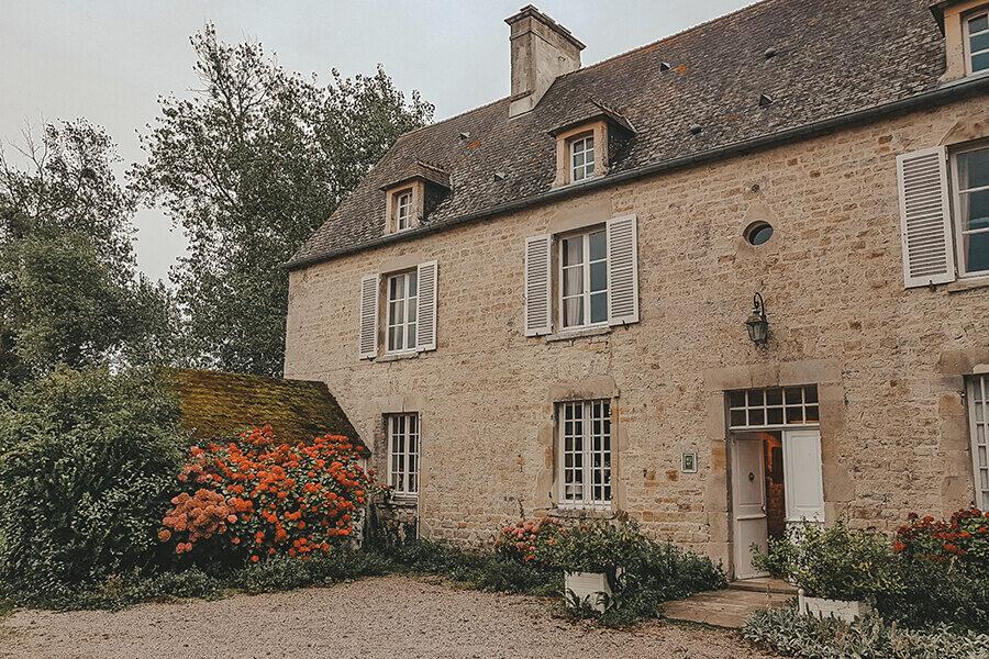 Casa tipica Normandia
