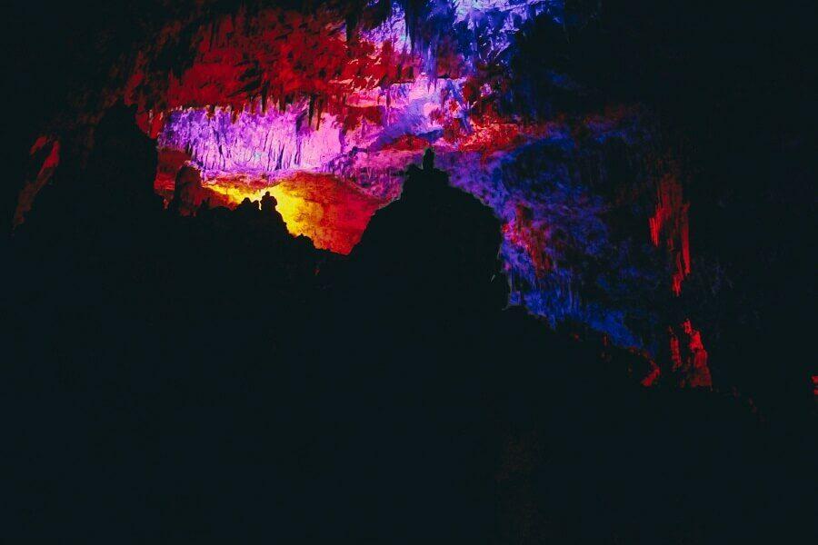 Colori grotte di postumia