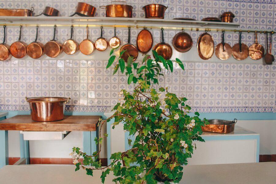 Cucina casa Monet Giverny