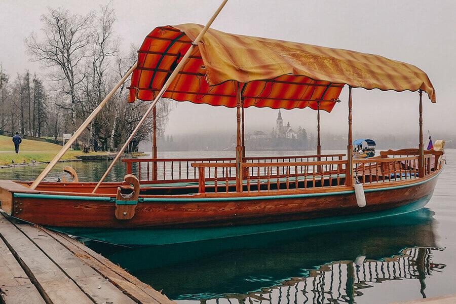 Lago di bled - capodanno in slovenia