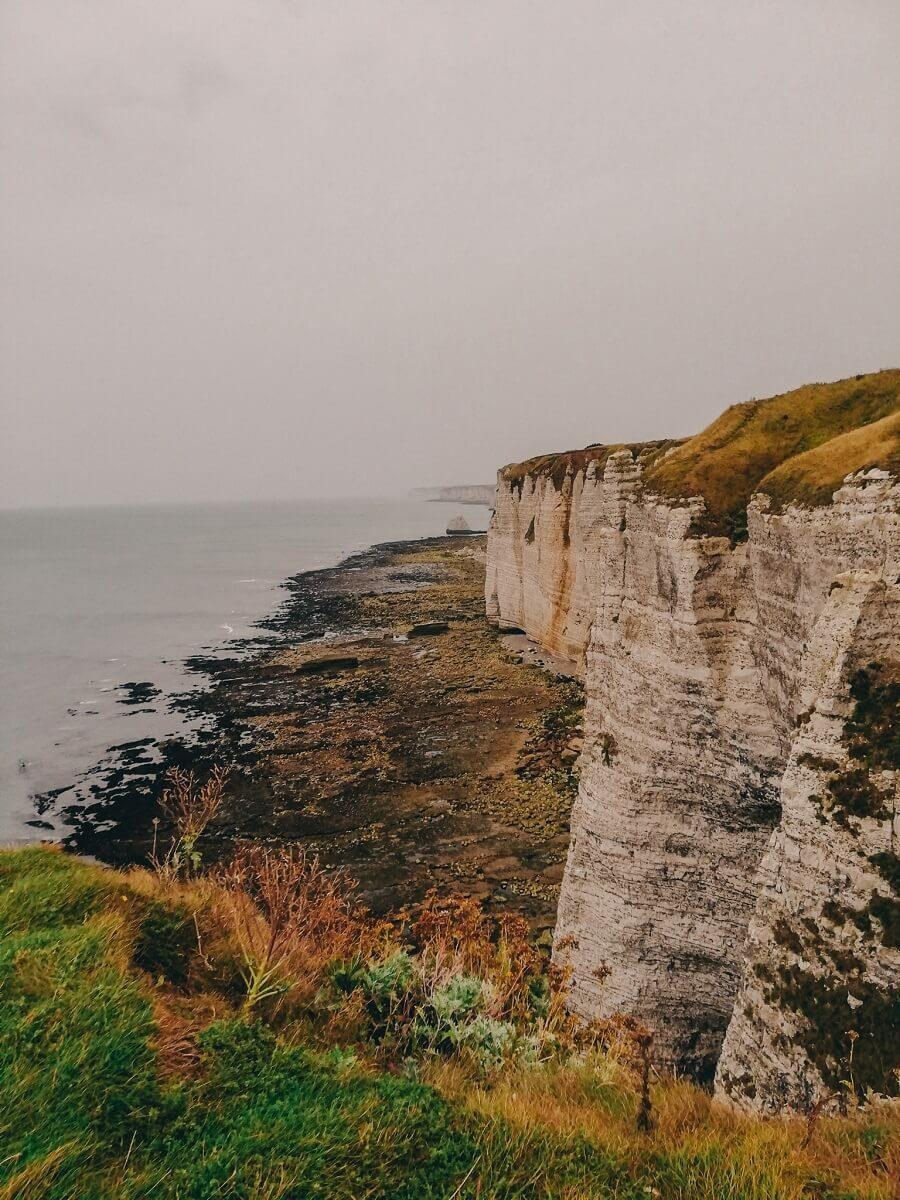 Scogliere di etretat dall'alto | 3 giorni in Normandia