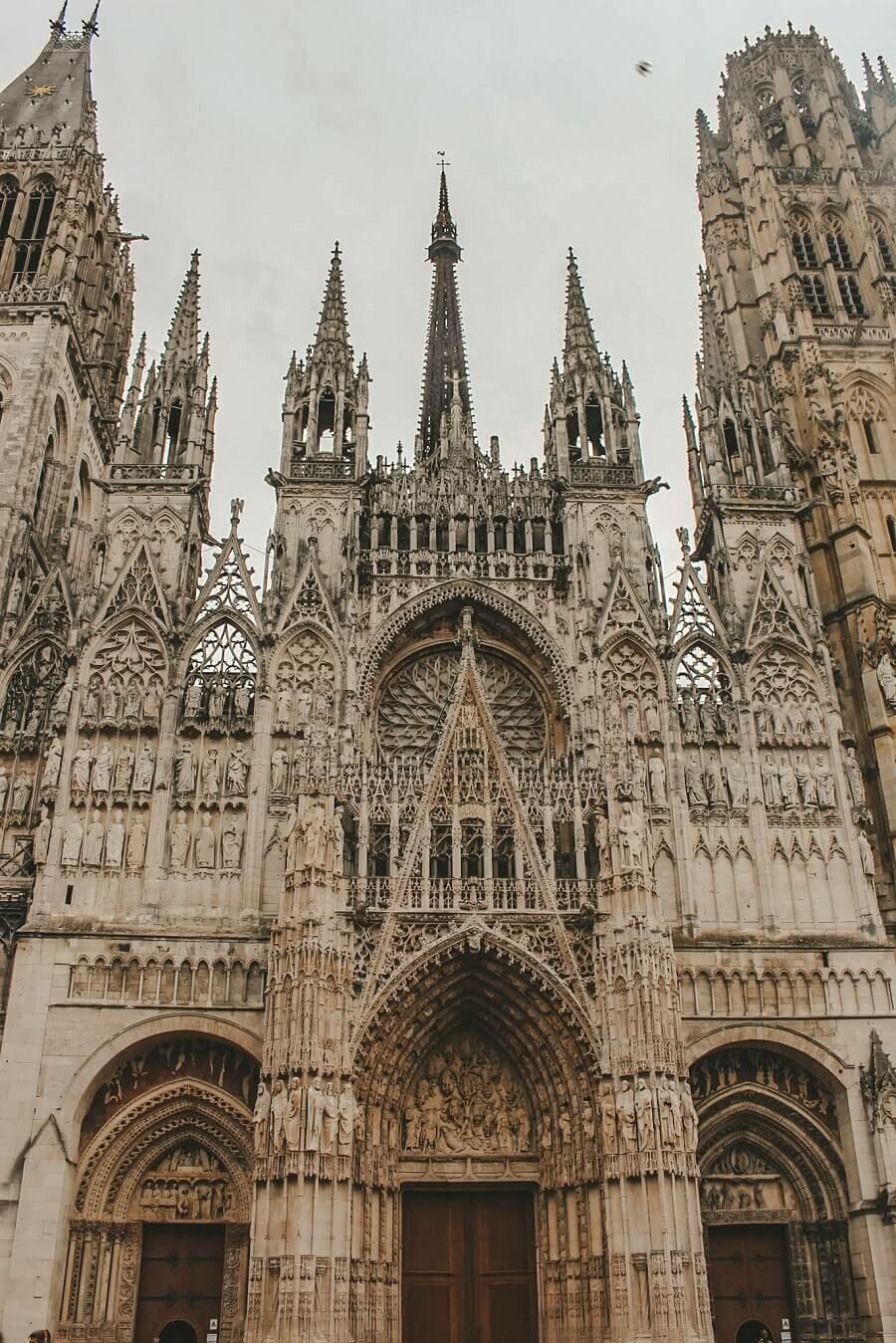 cattedrale di notre dame rouen