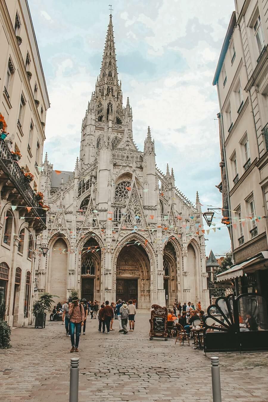 chiesa di saint macou rouen
