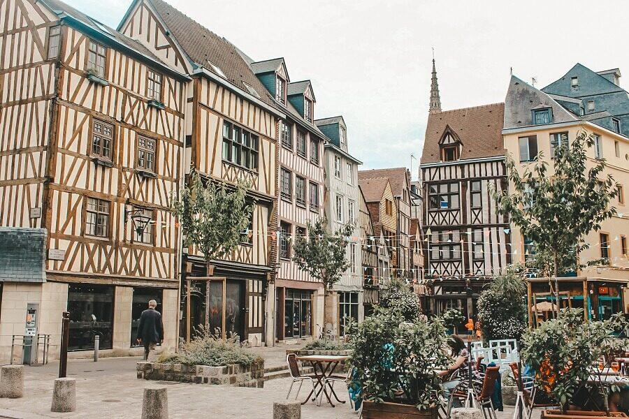 rouen 3 giorni in normandia