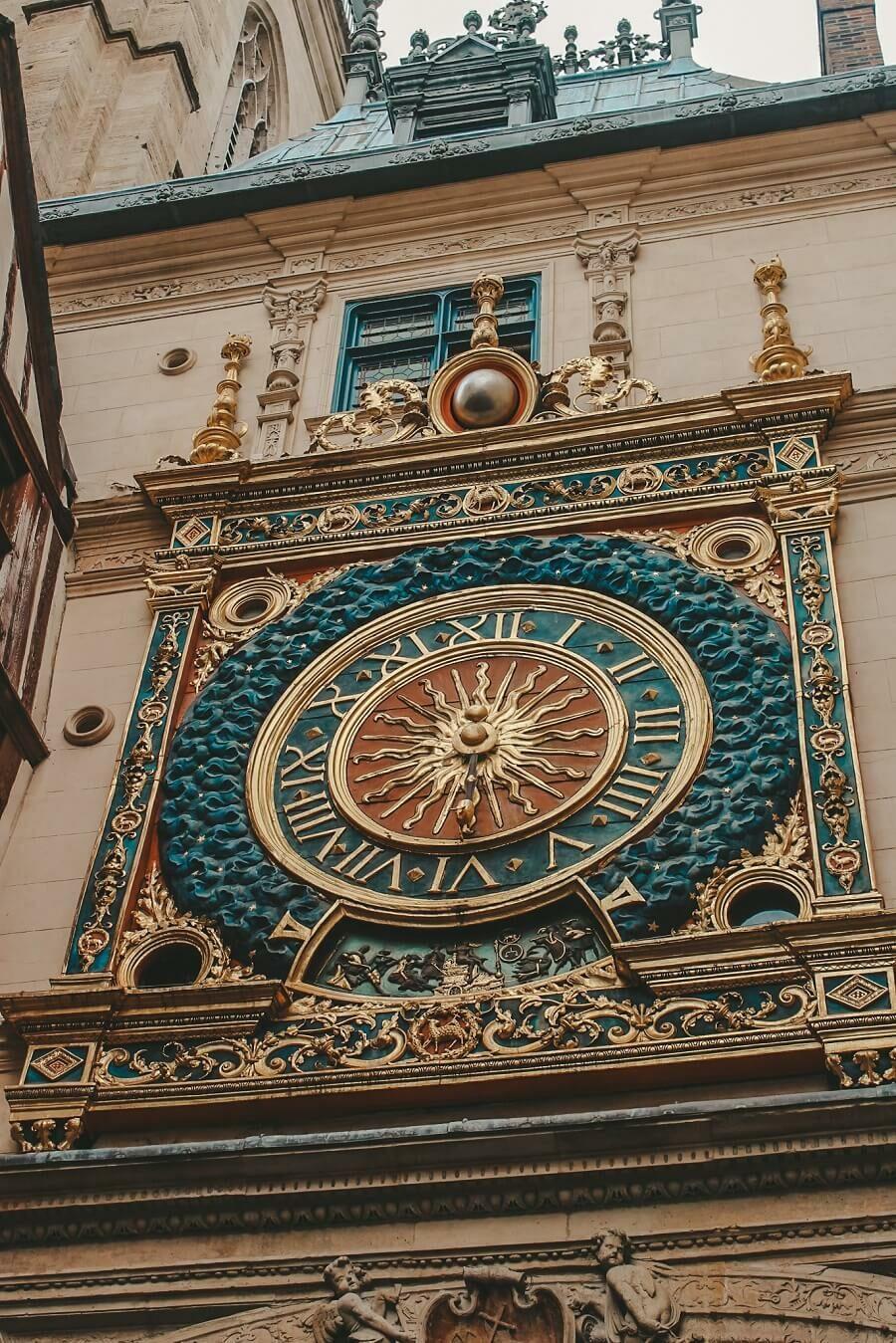 torre orologio rouen | 3 giorni in normandia