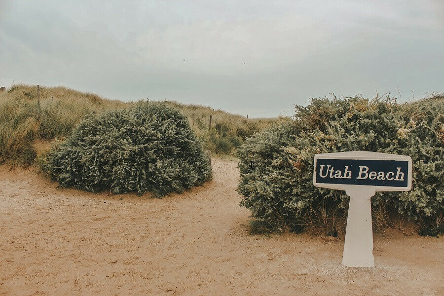 utah beach d-day - 3 giorni in Normandia