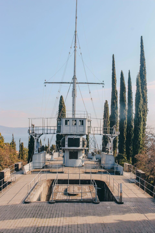 vittoriale degli italiani nave puglia